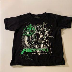 Boys Avengers t shirt size 7 Age of Ultron.